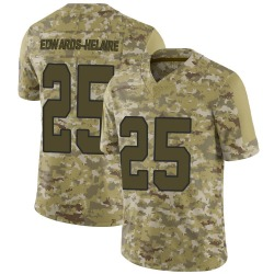 Clyde Edwards-Helaire Kansas City Chiefs Men's Limited 2018 Salute to Service Nike Jersey - Camo
