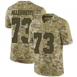 Nick Allegretti Kansas City Chiefs Youth Limited 2018 Salute to Service Nike Jersey - Camo