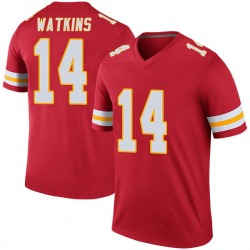 Sammy Watkins Kansas City Chiefs Youth Color Rush Legend Nike Jersey - Red